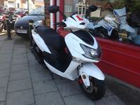 LEXMOTO FMX 125 GRAT SCOOTER IDEAL COMMUTER OR DELIVERY SCOOTER FULLY SERVICED DELIVERY ARRANGED