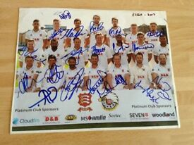 A Signed Photograph of the Essex County Cricket Club - 2017