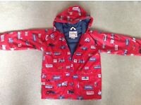 Hatley waterproof jacket suitable from 6 yrs +