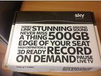 Sky +HD 500 GB and Sky on demand box
