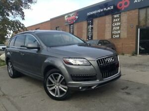 2014 Audi Q7 TECHNIK| 7PASS| 360 CAMERA| NAVI| PANO ROOF