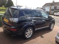 Mitsubishi Outlander 7 seats with selectable 4x4 functions