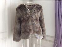 Jack Wills faux fur ladies coat