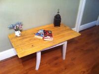 coffee table shabby chic rustic style-poss tv stand Reclaimed wood side table display