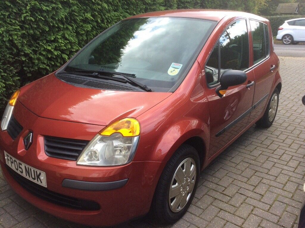 Well looked after Red Renault modus for sale sold