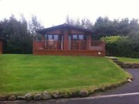 3 BEDROOM LODGE AWARD WINNING HAGGERSTON CASTLE
