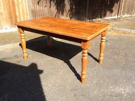 Chunky wooden table