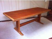 Vintage Retro Coffee Table or Bench / Can Deliver
