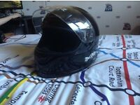 This helmet is in first class condition. Small size.