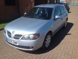 NISSAN ALMERA 1.5 SE (55) 1 OWNER, LOW MILES, HPICLEAR.