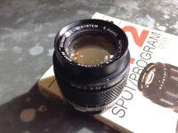 Olympus OM 2.8/100mm Zuiko Lens