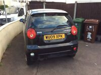Chevrolet Matiz, 995 cc, black,manual 2009