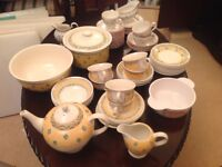 Ports of Call and Johnson Brothers Dinnerware sets