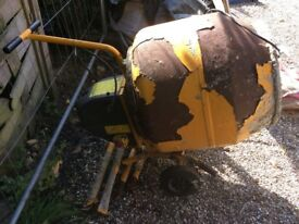 Cement Mixer not working