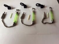 Solar tackle kit off hangers with iflo bobbins