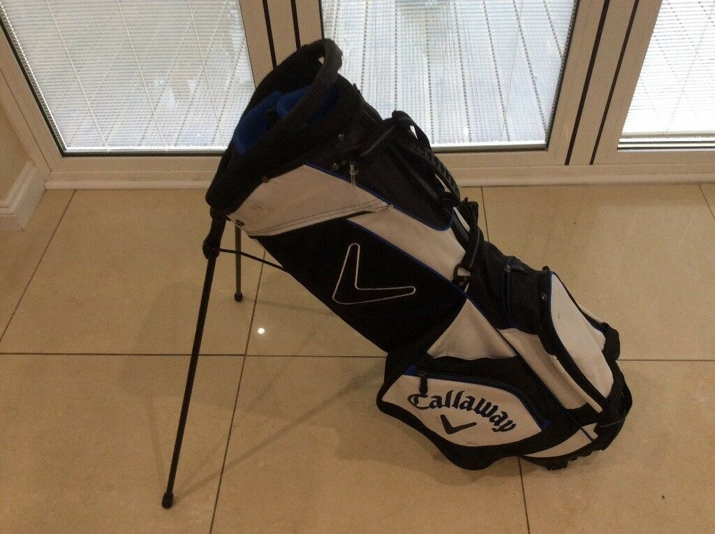 Callaway Lightweight Golf Carrystand Bag In Ayr South Ayrshire