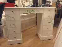 White cabinet with 5 draws at each £25