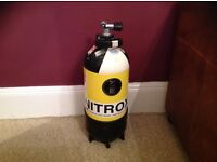 12 Litre Steel 232 bar Nitrox Dive Tank in excellent condition