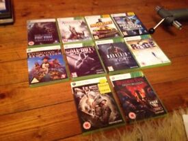 Great games xbox 360 lot