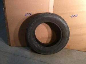 Two P185/55R14 UniRoyal Tiger Paw Tires 65%