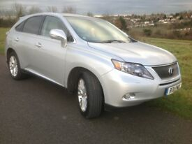 Lexus RX 450h 3.5 SE-I Station Wagon CVT 5dr (Pan roof) 2011 (11 Reg) Price £15192 Finance Arranged