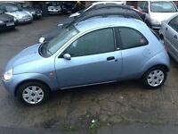 LOW MILEAGE 2007 FORD KA STYLE 1.3 PETROL, MOT JUNE 2017 46K WITH FULL SERVICE HISTORY 2 OWNERS