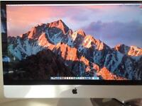 "Apple IMac 27"" screen."
