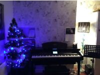 Piano lessons for beginners of all ages. Competitive rates. First lesson free!