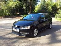 2012(62) VW POLO MATCH !1.2 PETROL,5DR , 12 MNTHS MOT, FSH,2 KEYS ,72K MILEAGE ,ALLOY WHEELS