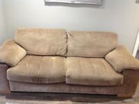 Harvey's three seater sofa needs to be collected by the 18th November