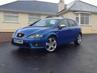 2012 Seat Leon 2.0 TDI FR Plus fully loaded sat/navy Bluetooth only 49k fsh mint condition +++