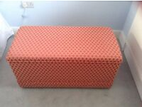 Padded Ottoman Blanket Box