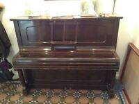 Upright piano - German traditional wood