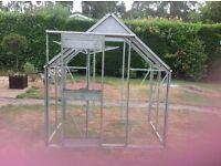 GREENHOUSE Aluminium and glass