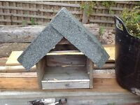 Bird House With Felt Roof Free To Good Home