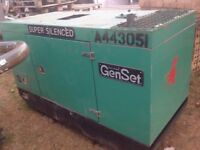 Diesel generator welder. 20 kva