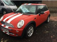 2004 MINI ONE *LOW MILES* FULL YEARS MOT EXCELLENT CONDITION FULLY SERVICED BARGAIN £1995!!!!!