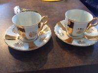 MZ Bone China 4 piece tea set