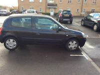 Renault Clio , full 12 month m.o.t , 4 good tyres cheap too run cheap tax cheap insurance