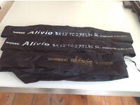 Shimano Alvio 12ft carp rods