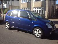 Vauxhall Meriva 2004 Design 1.6 Metalic Blue
