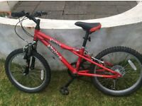 Dawes Redtail child's bike in good condition