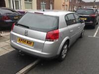 Vauxhall signum elegance 2.2petrol