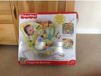 Fisher Price Animals of the World Playtime Bouncer
