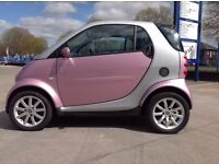 Rare Passion Pink Smart City Coupe Car