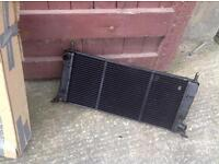 Escort 1.6 CVH new radiator.