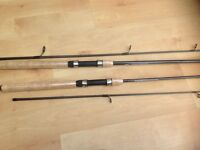 New carbon spin rods
