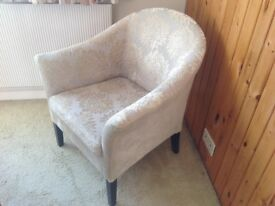 Bucket chair, not new but in reasonable condition, smoke free home
