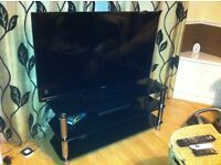 "50"" FLAT SCREEN TV + STAND"