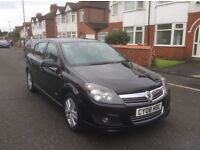 2008 Vauxhall Astra 1.6 SXI 5dr hatchback petrol manual 1 owner black colour full history £2150.